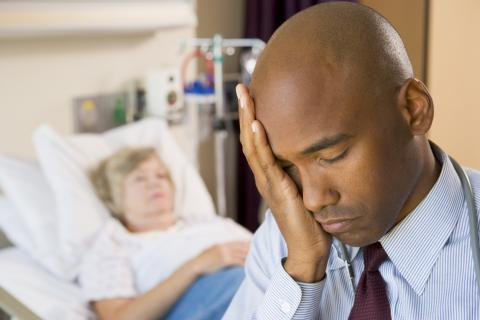 Frustrated Physician